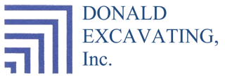 Donald Excavating, Inc. Logo